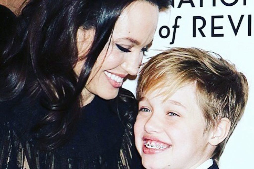 Angelina Jolie i Shiloh Jolie Pitt