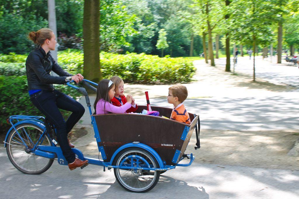 bicycle netherlands kids bucket bike
