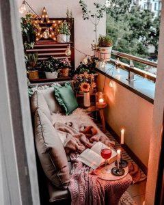 42 Cozy and Stylish Small Balcony Design Ideas 7