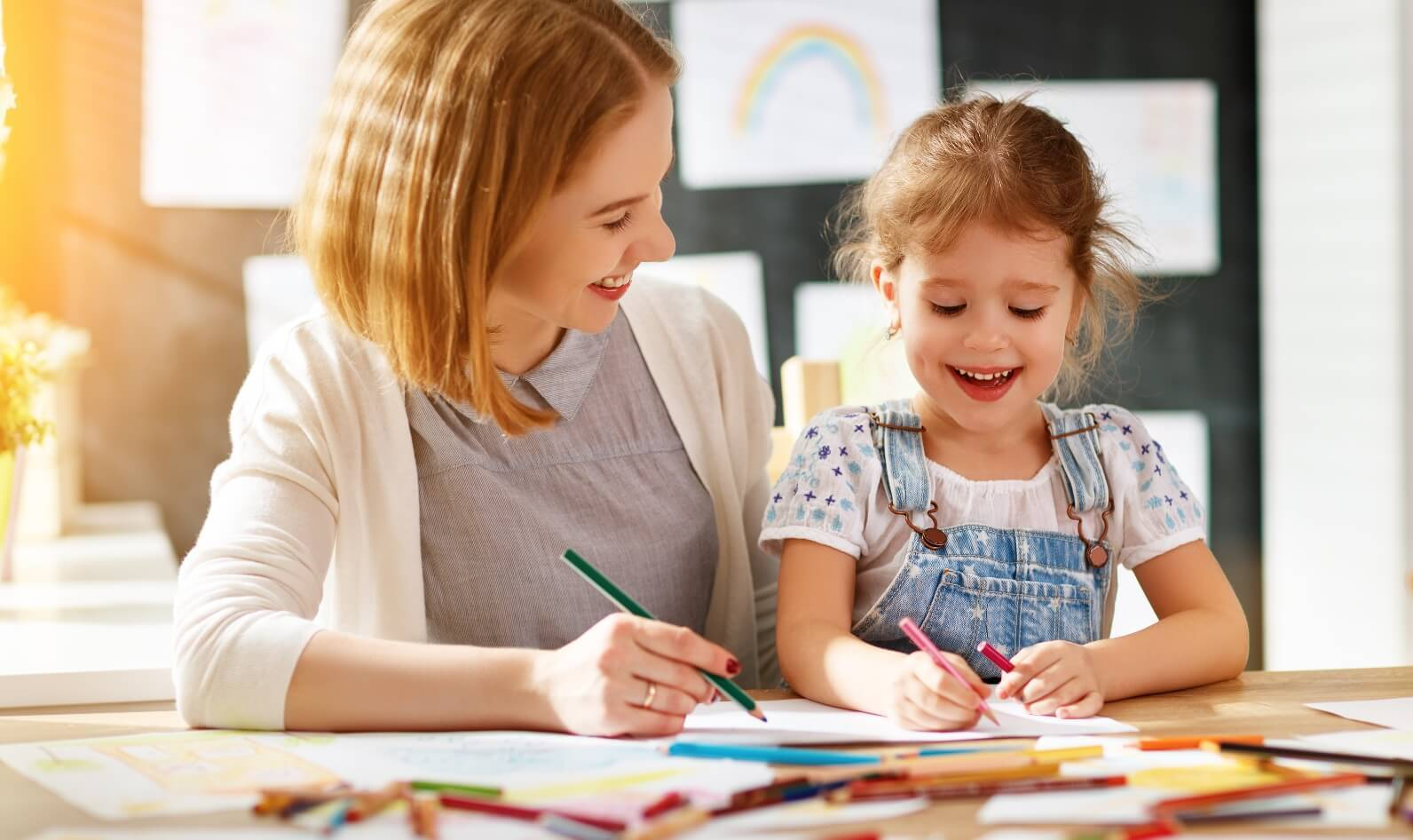 Connecting with Kids Through Art