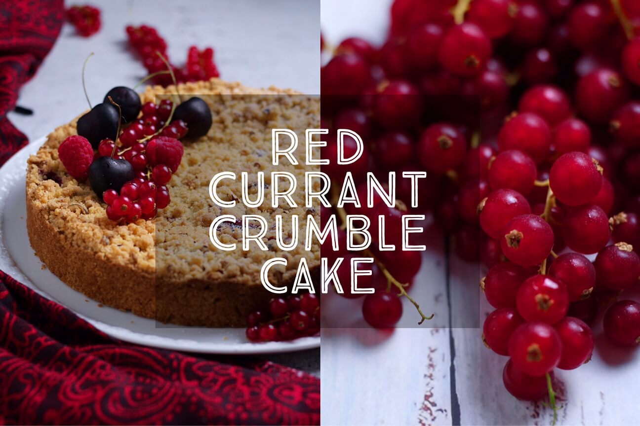 Red Currant Crumble Cake 19