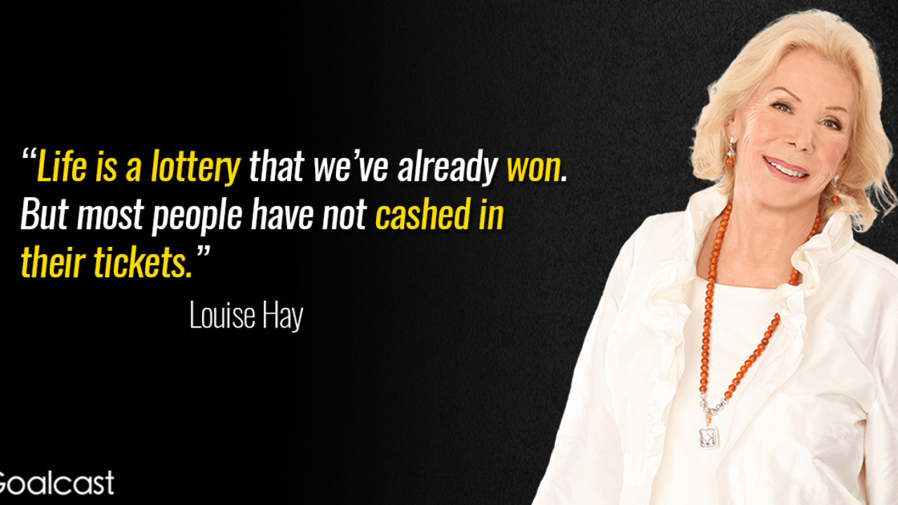louise hay quote life is a lottery 1280x720 1