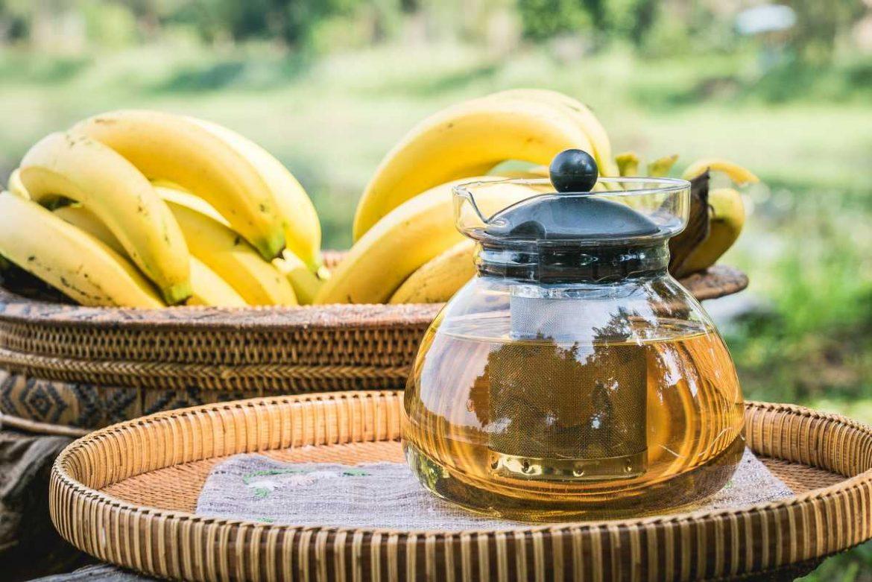 domaci caj od banane saznajte zasto je ovaj napitak dobar i kako se pravi