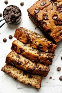 Gluten Free Banana Bread with Chocolate Chips 3