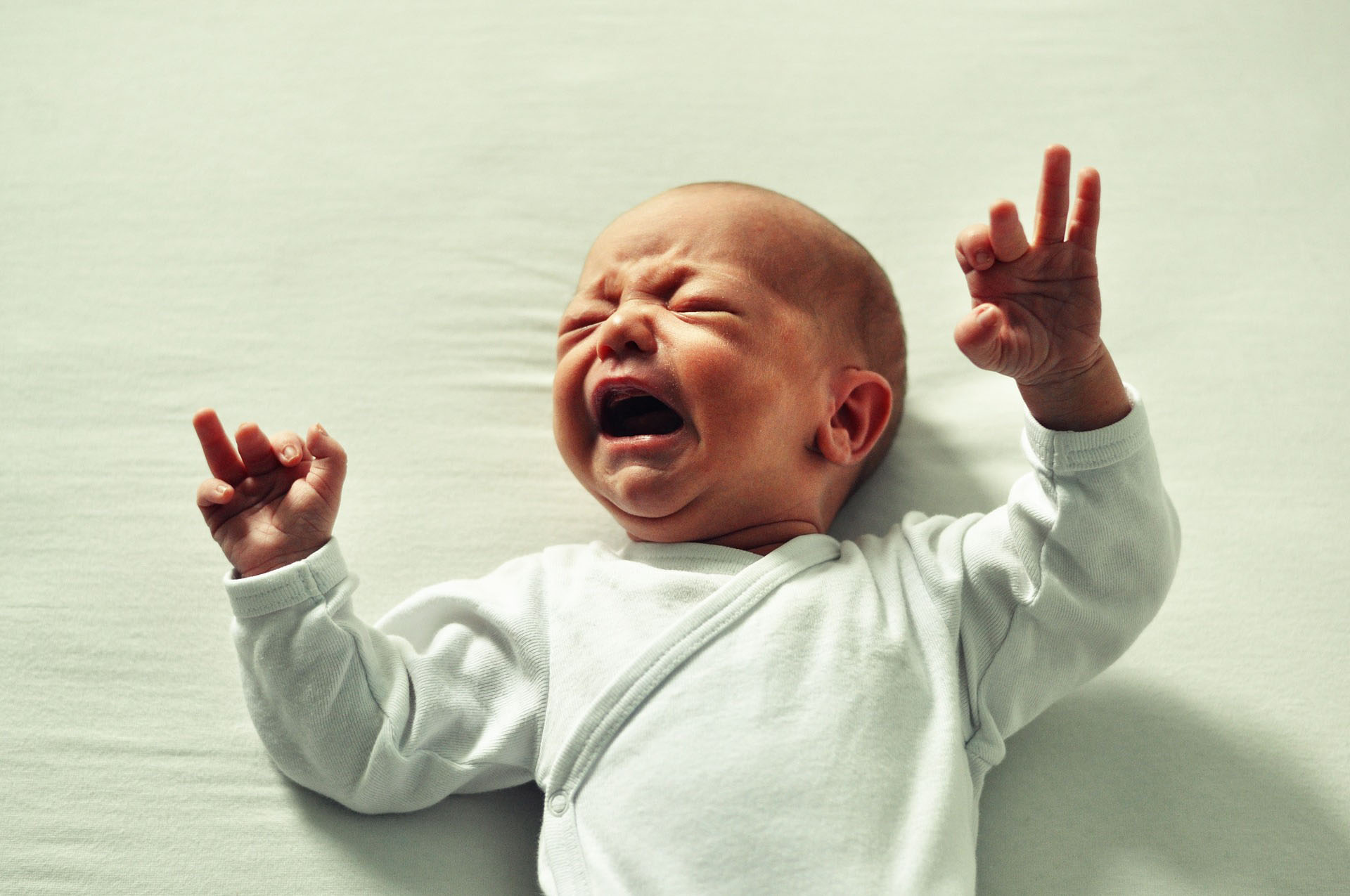 is it ok to let your baby cry it out
